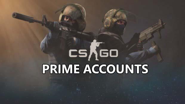 csgo prime accounts